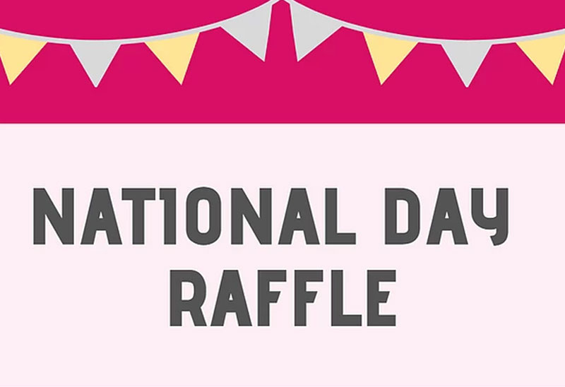 National Day Raffle