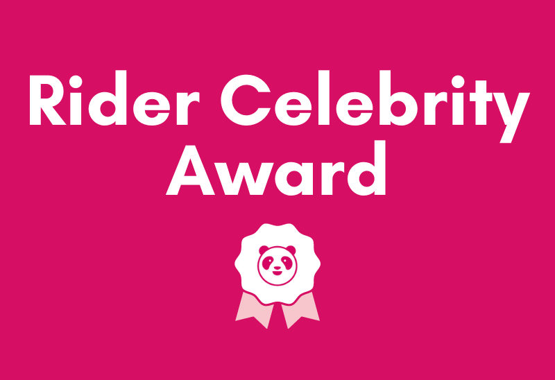 Rider Celebrity Award